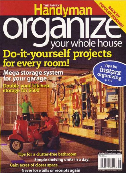 Download the family handyman organize your whole house for The family handyman pdf