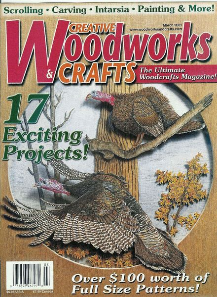 Creative Woodworks &Amp; Crafts №7 1998