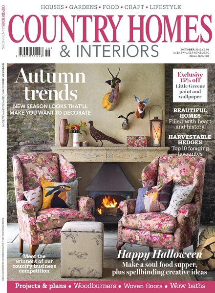 download country homes interiors magazine october 2013
