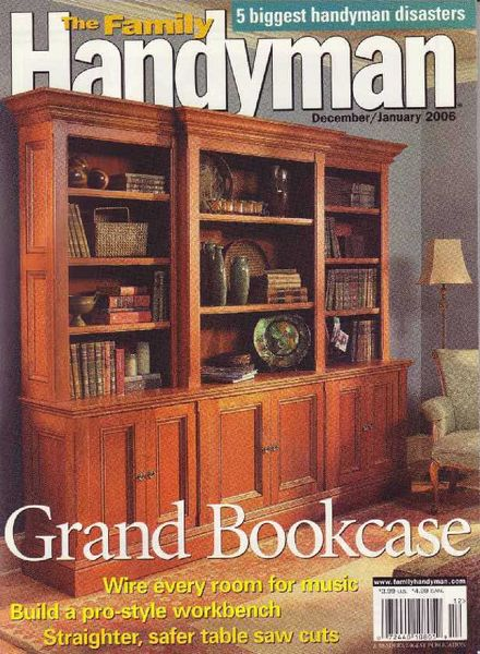 Download the family handyman 464 2005 12 pdf magazine for The family handyman pdf