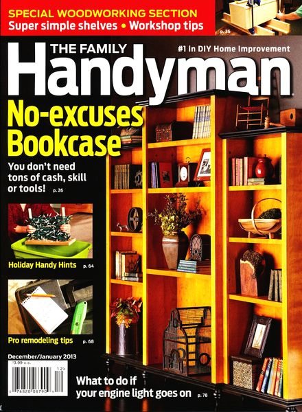 Download The Family Handyman December 2012 January