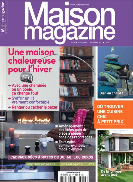 Download maison magazine n 280 2011 11 12 pdf magazine for Magazine maison