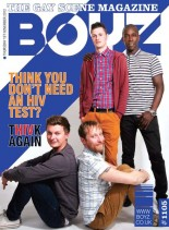 Boyz UK 1105, November 2012