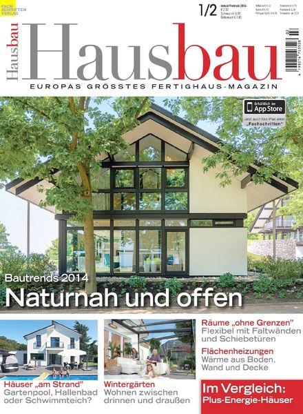 download hausbau januar februar 2014 pdf magazine. Black Bedroom Furniture Sets. Home Design Ideas