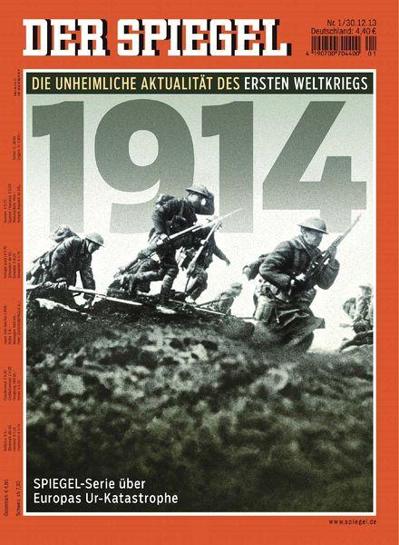 Download der spiegel 01 2014 pdf magazine for Spiegel download