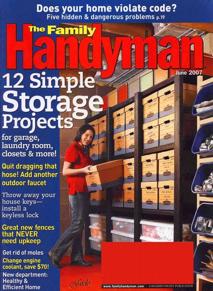 Download the family handyman 479 2007 06 pdf magazine for The family handyman pdf