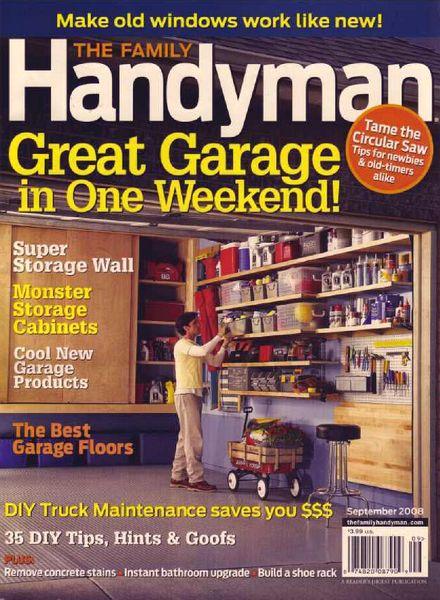 Download The Family Handyman 491 2008 09 Pdf Magazine