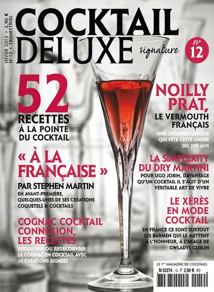 Download cocktail de luxe n 12 hiver 2013 pdf magazine for Cocktail hiver