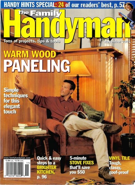 Download the family handyman 423 2001 11 pdf magazine for The family handyman pdf