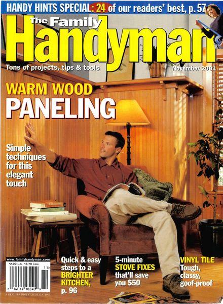 Download The Family Handyman 423 2001 11 Pdf Magazine