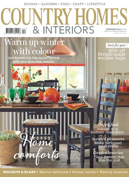 Download Country Homes Interiors Magazine February 2014