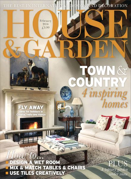 Download House Garden Magazine February 2014 PDF Magazine
