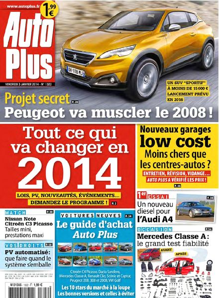 download auto plus n 1322 3 janvier 2014 pdf magazine. Black Bedroom Furniture Sets. Home Design Ideas