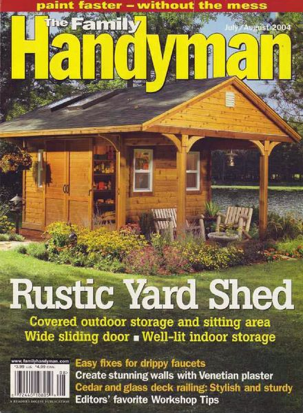 Download the family handyman 450 2004 07 pdf magazine for The family handyman pdf