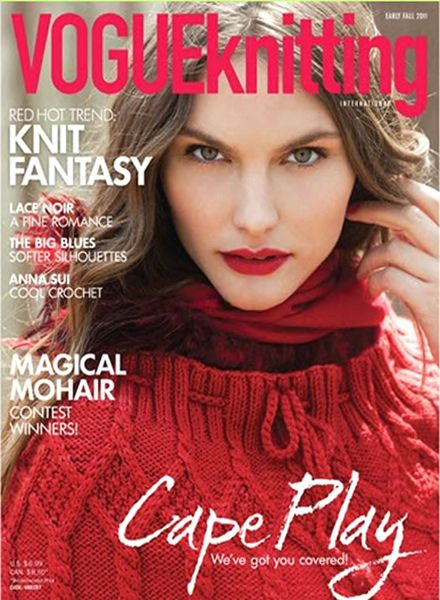 Knitting Vogue 2014 : Download vogue knitting early fall pdf magazine