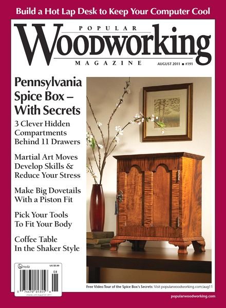Download Popular Woodworking – 191, 2011 - PDF Magazine