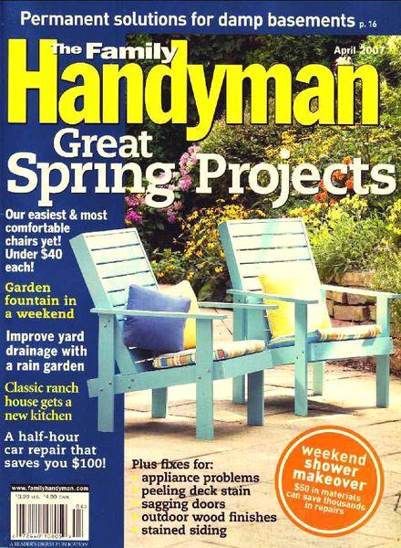 Download The Family Handyman 477 2007 04 Pdf Magazine