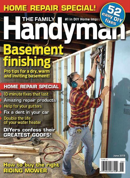 Download The Family Handyman June 2013 Pdf Magazine