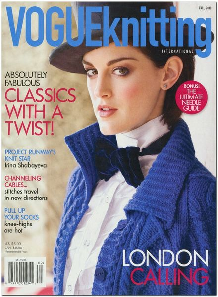 Knitting Vogue 2014 : Download vogue knitting fall pdf magazine