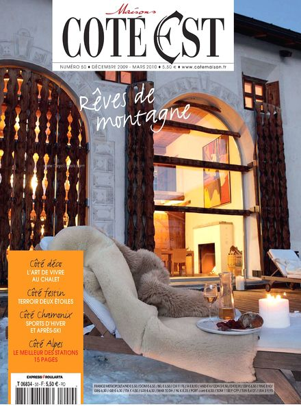 download maison cote est n 50 pdf magazine. Black Bedroom Furniture Sets. Home Design Ideas
