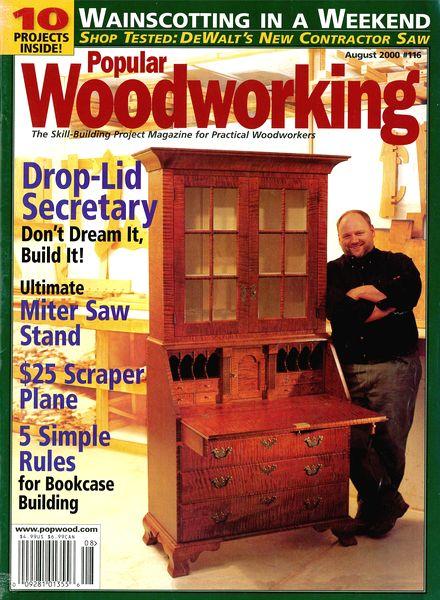 Download Popular Woodworking – 116, August 2000 - PDF Magazine