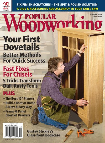 Download Popular Woodworking – 146, February 2005 - PDF Magazine