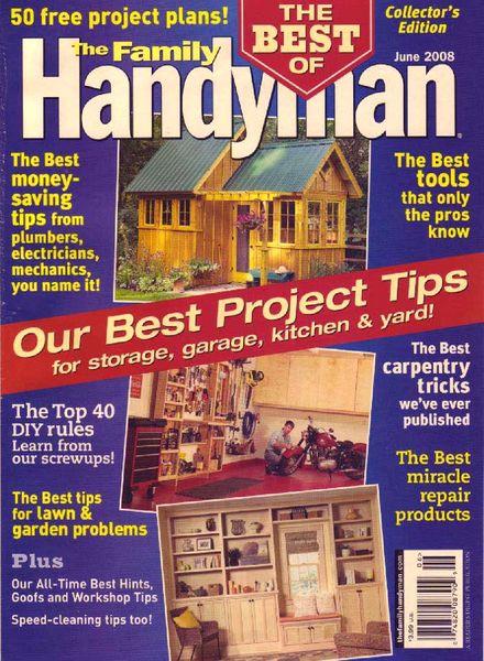 Download The Family Handyman 489 2008 06 Pdf Magazine