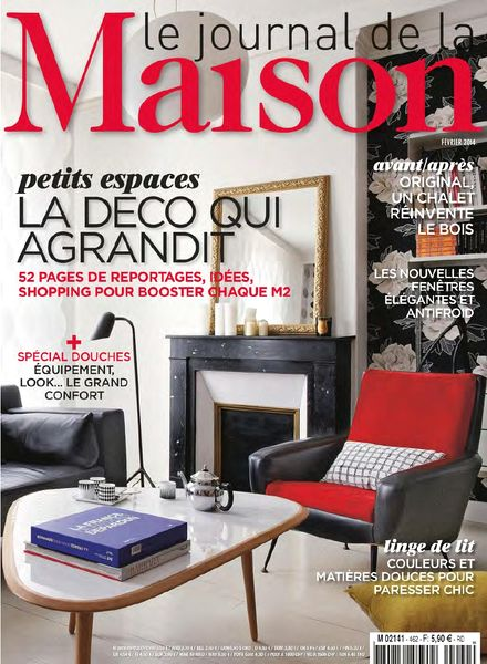 download le journal de la maison n 462 fevrier 2014 pdf magazine. Black Bedroom Furniture Sets. Home Design Ideas