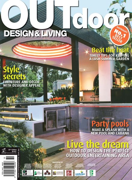 Download outdoor design living magazine 22nd edition for Outdoor living magazine