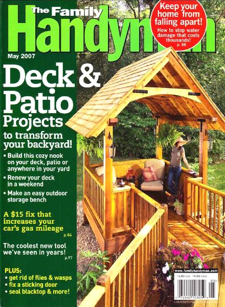 Download the family handyman 478 2007 05 pdf magazine for The family handyman pdf