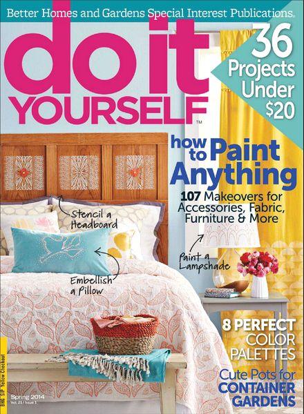 download do it yourself spring 2014 pdf magazine. Black Bedroom Furniture Sets. Home Design Ideas