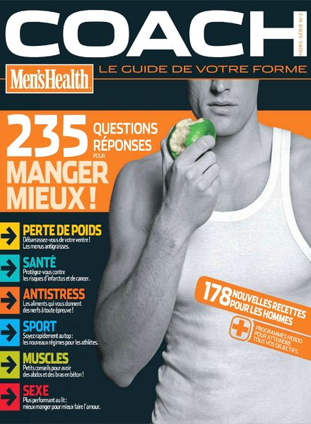 Download Men's Health Coach France N 2  PDF Magazine