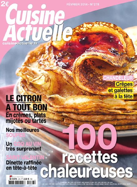 download cuisine actuelle n 278 fevrier 2014 pdf magazine. Black Bedroom Furniture Sets. Home Design Ideas