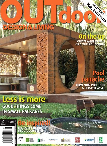 Download outdoor design living magazine 25th edition for Outdoor living magazine