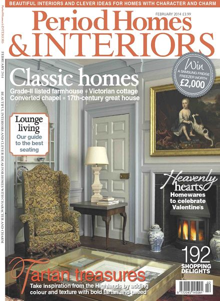 download period homes amp interiors magazine february 2014
