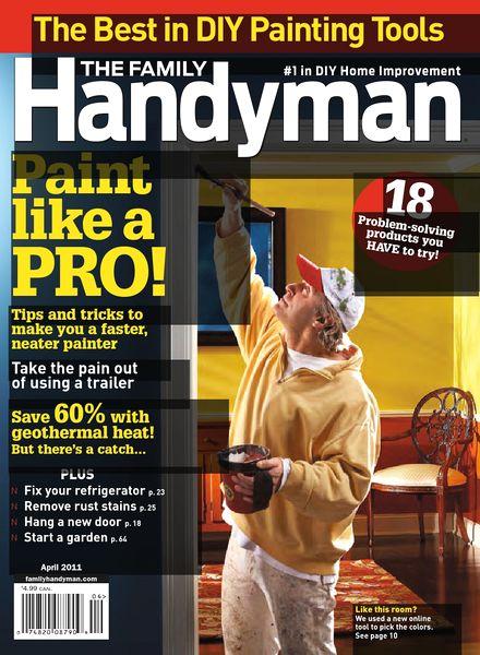 Download The Family Handyman April 2011 Pdf Magazine