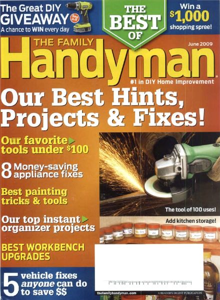 Download the family handyman june 2009 pdf magazine for The family handyman pdf