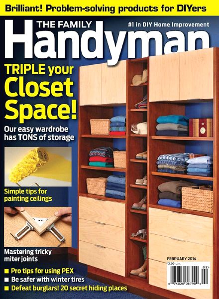 The Family Handyman - February 2014