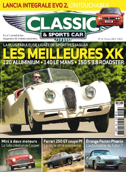 download classic sports car france n 18 fevrier 2014 pdf magazine. Black Bedroom Furniture Sets. Home Design Ideas