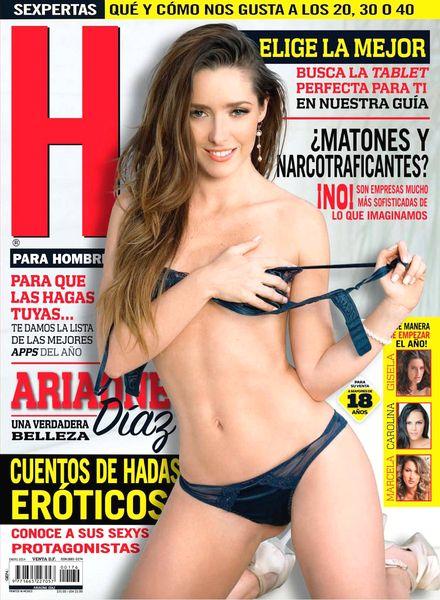 H para Hombres Mexico - January 2014