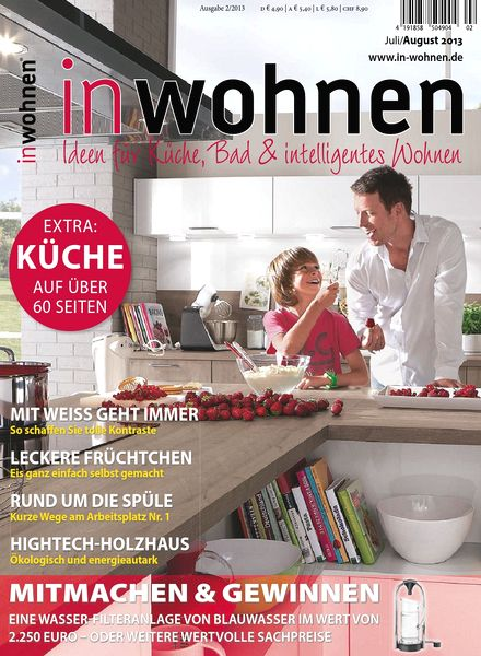 download in wohnen magazin juli august n 02 2013 pdf magazine. Black Bedroom Furniture Sets. Home Design Ideas