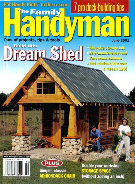 Download The Family Handyman 419 2001 06 Pdf Magazine