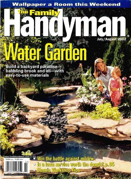 Download the family handyman 430 2002 07 pdf magazine for The family handyman pdf