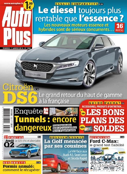 download auto plus n 1324 17 au 24 janvier 2014 pdf magazine. Black Bedroom Furniture Sets. Home Design Ideas