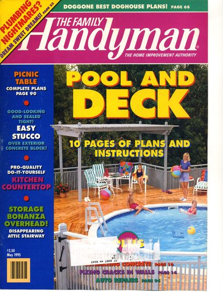 Download the family handyman 358 1995 05 pdf magazine for The family handyman pdf
