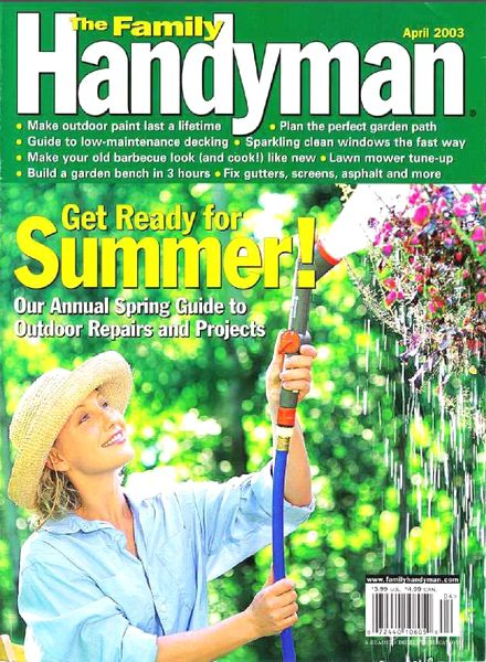 Download the family handyman 437 2003 04 pdf magazine for The family handyman pdf