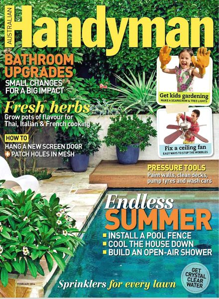Download Australian Handyman Magazine – February 2014 - PDF Magazine