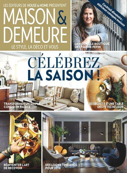 Download maison demeure vol 5 n 9 novembre 2013 pdf magazine - Maison demeure magazine ...