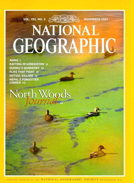 NATIONAL GEOGRAPHIC JANUARY 1997