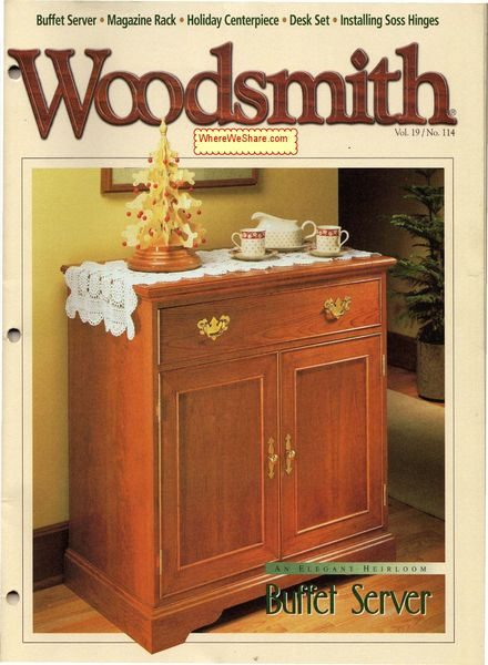 Fine Woodworking Issue 210 Free Download, Dec... - Amazing Wood Plans